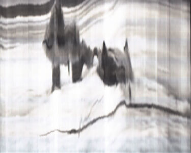 SCANTRIFIED MOVIE NANOOK OF THE NORTH #259, 2014, Digital C-print, Dimensions Variable