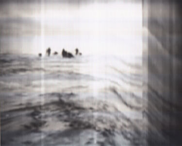SCANTRIFIED MOVIE NANOOK OF THE NORTH #304, 2014, Digital C-print, Dimensions Variable