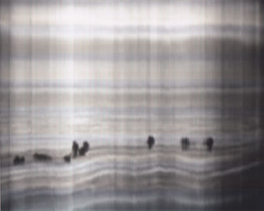 SCANTRIFIED MOVIE NANOOK OF THE NORTH #307, 2014, Digital C-print, Dimensions Variable